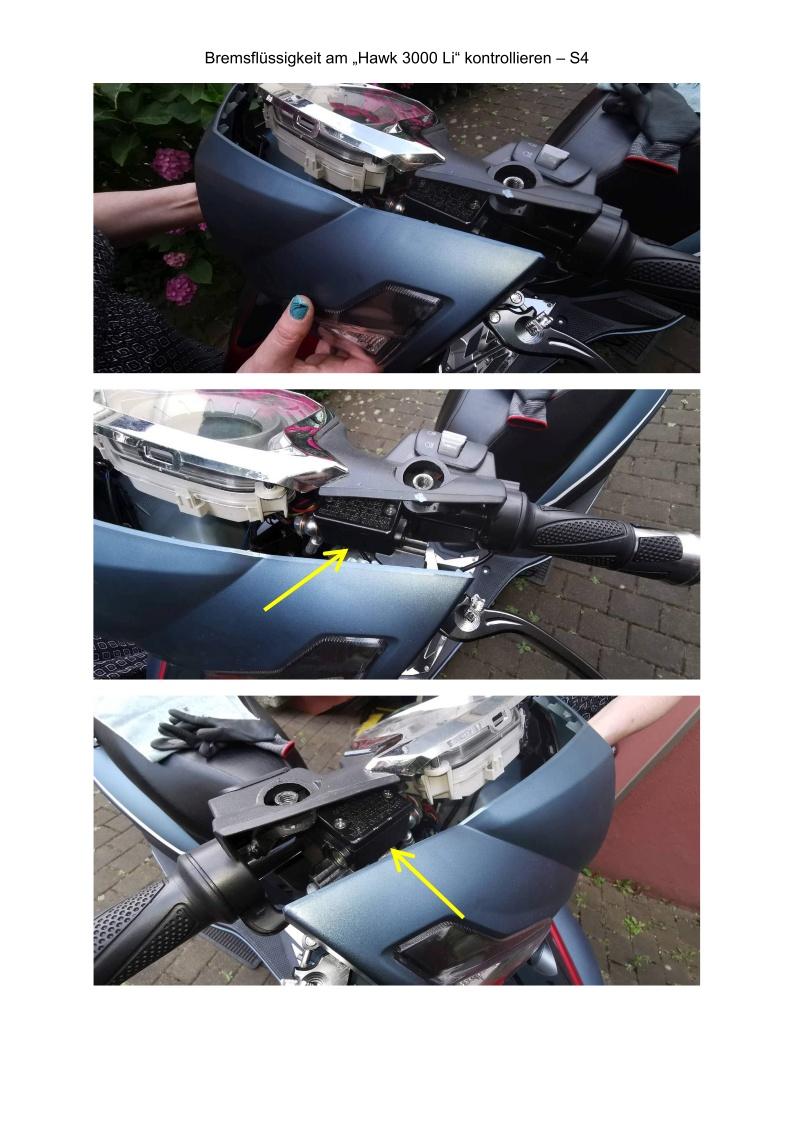 Bremsflüssigkeit kontrollieren - S4