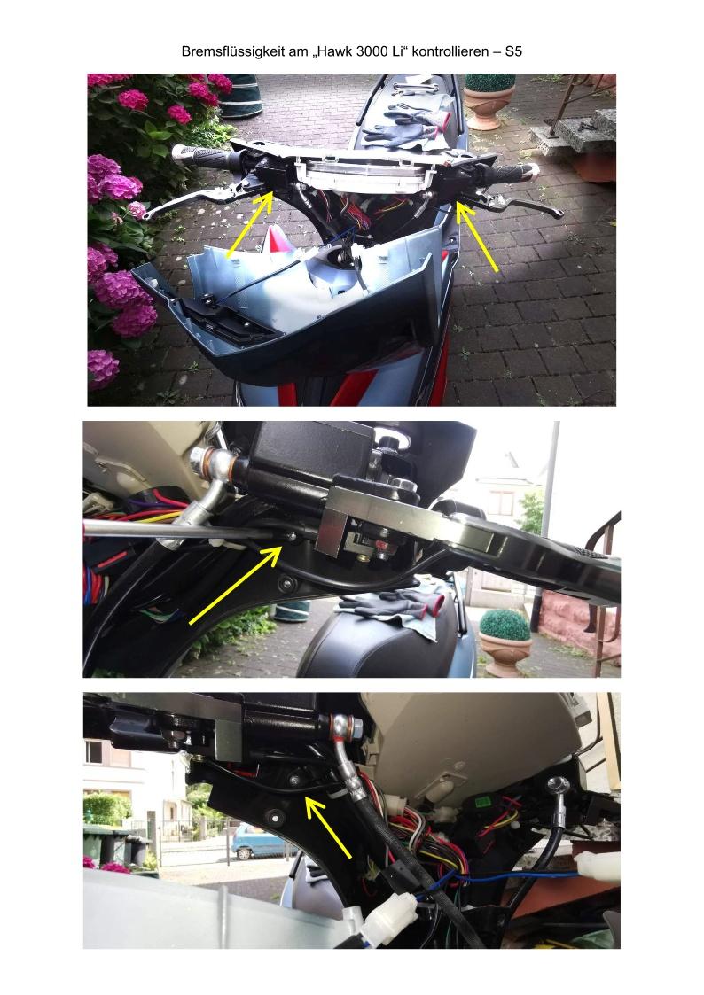 Bremsflüssigkeit kontrollieren - S5