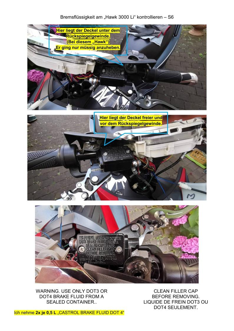 Bremsflüssigkeit kontrollieren - S6