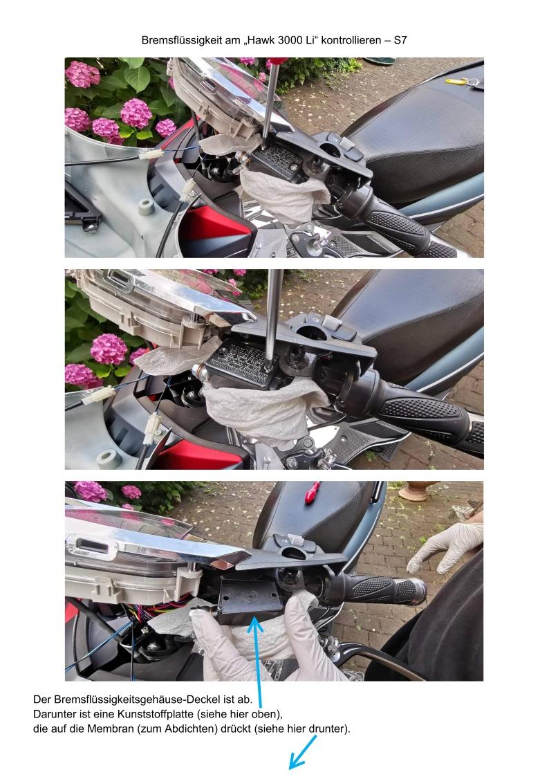 Bremsflüssigkeit kontrollieren - S7