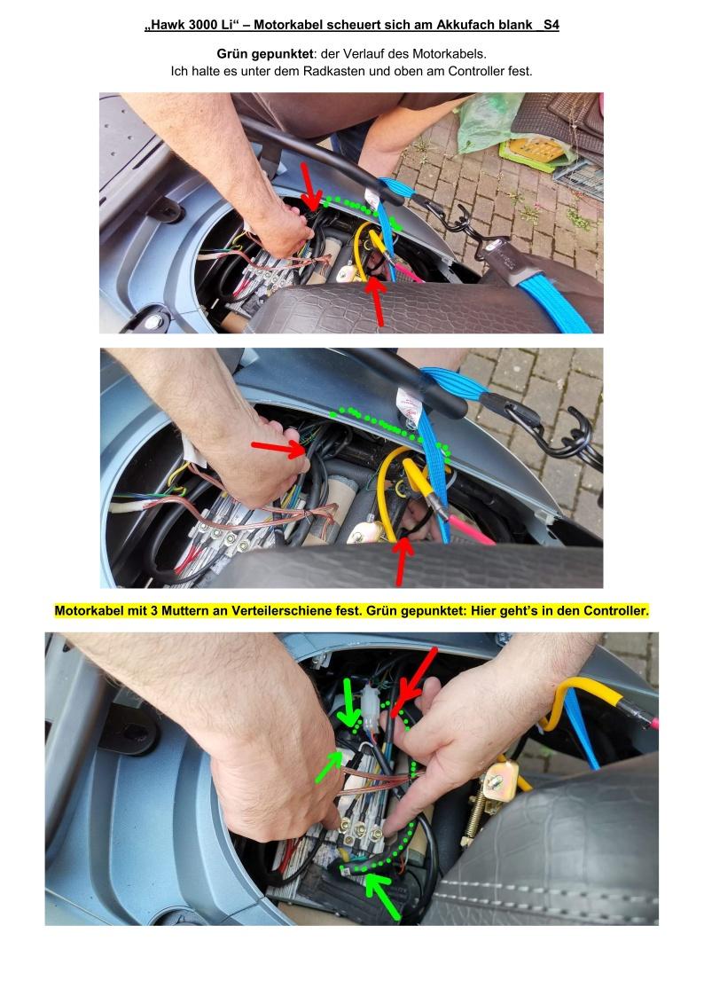 Hawk 3000 Li - Motorkabel scheuert sich am Akkufach blank_S4