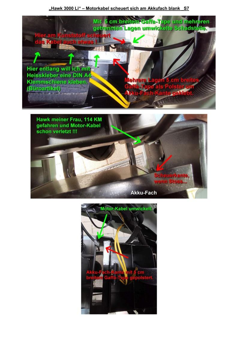 Hawk 3000 Li - Motorkabel scheuert sich am Akkufach blank_S7