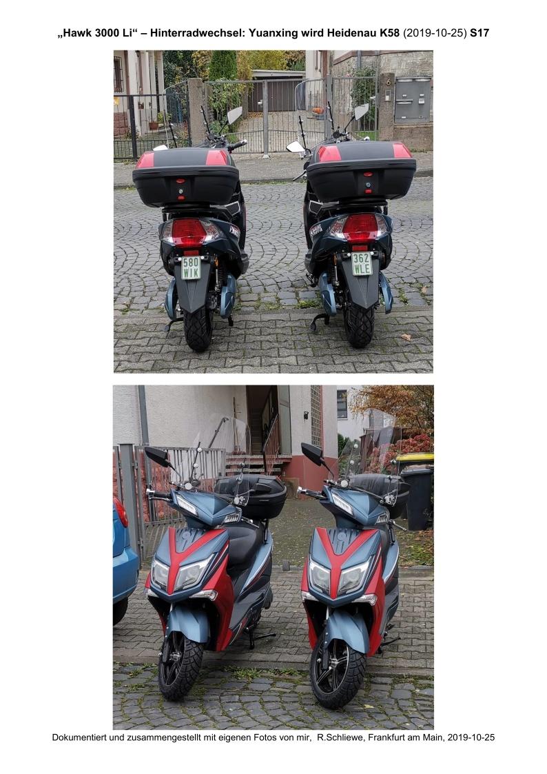 Hawk 3000 Li - Hinterradwechsel - S17